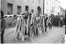 alte Fotografie in schwarz/weiß