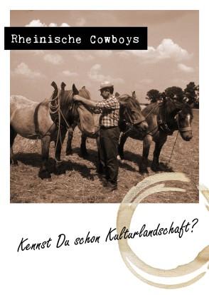 Einladungskarte zum Forum: Das LVR-Forum Naturschutz und Kulturlandschaft findet zweimal jährlich statt; Foto: Gabriele Harzheim, Geilenkirchen, 1984
