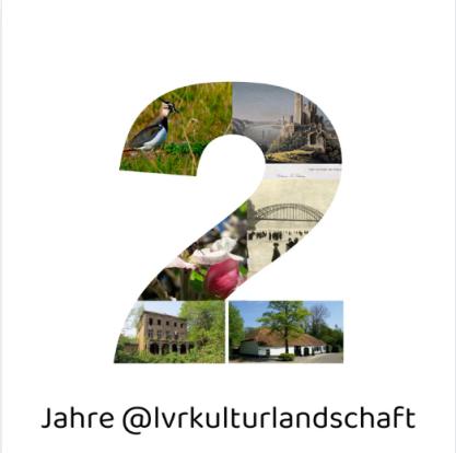 Der Instagram-Account @lvrkulturlandschaft wird 2 Jahre alt; Collage: Lennert Herden (2021)