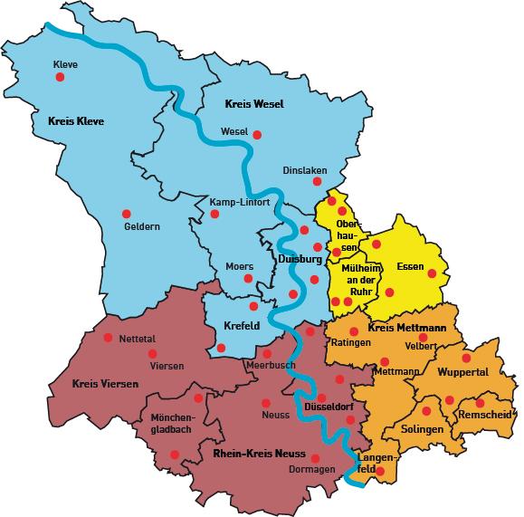 Düsseldorf Karte.Spz In Der Bezirksregierung Düsseldorf Lvr