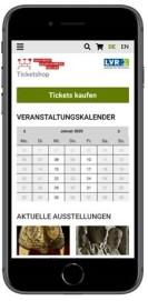 Grafik: ein Smartphone mit aktivem Bildsschirm, der einen Online-Shop zeigt.