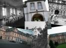 eine Fotocollage der Abtei Brauweiler