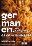 Plakat: Germanen. Eine archäologche Bestandsaufnahme.